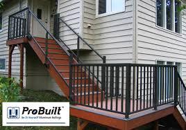 probuilt aluminum deck railing png 600 420 pixels skateboard