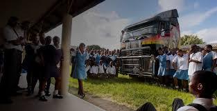 who makes volvo trucks corporate social responsibility volvo trucks