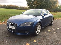audi tt 2 0l tfsi 2007 u002757 u0027 in midnight blue with full service
