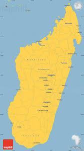 Madagascar Blank Map by Savanna Style Simple Map Of Madagascar