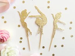 gymnastics cake toppers glitter gymnastics cupcake toppers food picks bachelor
