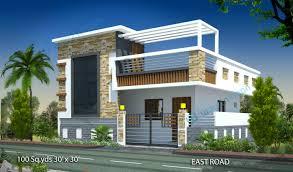 home design 30 x 30 1st level affordable cottage house plan 2