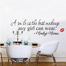 Eiffel Tower Wall Decals A Simile Is The Best Makeup Any Can Wear Marilyn Monroe