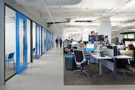 chicago office interior design adapts different work styles
