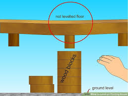 level house how to level an existing house 9 steps with pictures wikihow