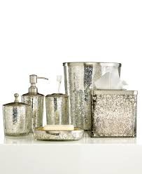 Paradigm Bath Accessories Crackle Glass Ice Soap And Lotion