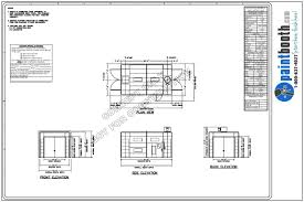 Industrial Floor Plan by The Enclosed Industrial Paint Booth Is Highly Versatile