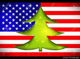 american christmas tree christmas lights decoration
