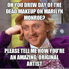 Makeup Artist Memes - makeup artist meme