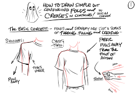 i wanted to share some quick philosophies about drawing folds and