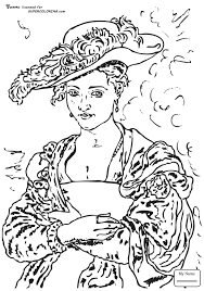 arts culture self portrait by peter paul rubens coloring pages for