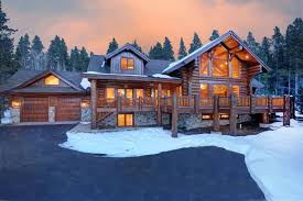 magnificent handcrafted log home colorado luxury homes