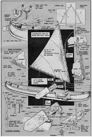 the diy canoe sailing rig free plans the marked tree