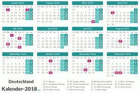 Ferienkalender 2018 Bw Kalender 2018 Mit Feiertagen Ferien