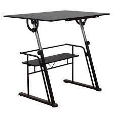 Studio Designs Drafting Tables Studio Designs Zenith Drafting Table Color Black 13340
