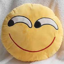 emoji decorative throw pillow smiley cushion home decor buycoolprice