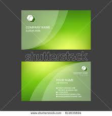 Abstract Business Cards Abstract Business Card Design Waves Stock Vector 406765030