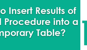Sql Declare Temp Table Sql Server How To Create Table Variable And Temporary Table