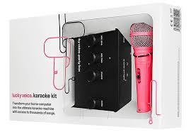microphone black friday karaoke kit black friday deal on the lucky voice karaoke kit