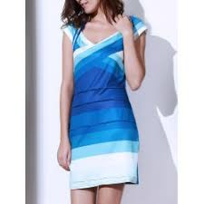 ombre blue dress singapore sale online at cheap prices