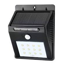 Solar Led Lights For Outdoors Lightingwill Solar Led Wall Light 12 Led Lights 1200mah Battery