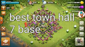 Layout Coc Town Hall Level 7 | clash of clans best base layout for town hall level 7 complete