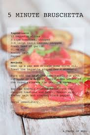 best 25 how to make bruschetta ideas on pinterest carmelized