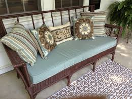 wicker settee cushions is solutions relax you u2014 cookwithalocal