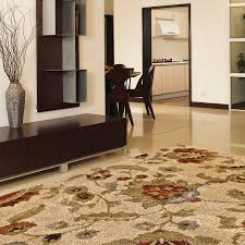 Living Room Area Rugs Shop Allen Roth Cliffony 7 Ft 10 In X 10 Ft Rectangular Beige