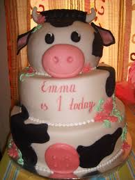 cake birthday cow cakes decoration ideas birthday cakes