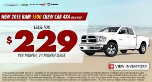 dodge ram 1500 lease cueter chrysler jeep dodge ram july 2015 lease specials