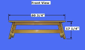 free bench plans how to build a wooden bench