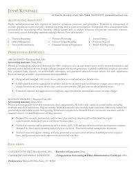 Sample Resume Format For Accounting Staff by Assistant Account Assistant Resume