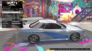 paul walker car collection how to make paul walker u0027s car in gta 5 online youtube