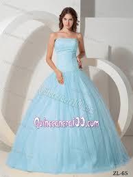 baby blue quinceanera dresses fabulous light blue strapless beading quinceanera dresses gowns