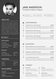 Sample Resume Format Resume Template by 9 Creative Resume Design Tips With Template Examples