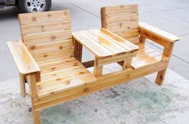 33 wooden benches complimenting garden design and backyard