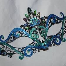 teal masquerade masks best teal masquerade mask products on wanelo