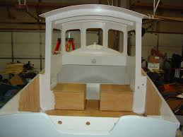 todd u0027s mini tug boat building journal some exterior white completed