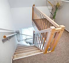 treppen und gel nder treppengelander selber bauen einfache holztreppe treppen treppe