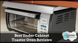 under cabinet appliances kitchen best under cabinet toaster oven reviews youtube