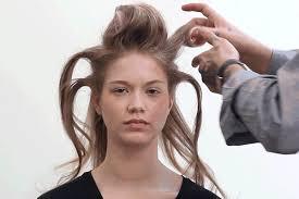 volume hair gif lesson how to give thin hair volume