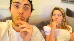 zalfie try halloween candy youtube