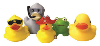 personalised rubber ducks bathroom