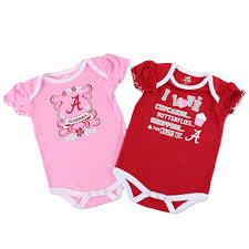 Nebraska Huskers Baby Clothes Alabama Crimson Tide Girls Baby Clothes 2 Pack Onesies 42cdn