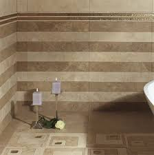 bathroom brown clasiccal bathroom tile flooring white