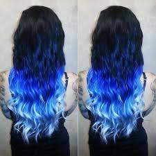 mermaid hair extensions black to purple ombre hair dip dye mermaid indian remy clip in