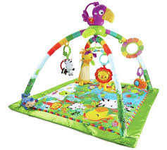 fisher price rainforest music and lights deluxe gym playset buy fisher price rainforest music lights deluxe gym activity