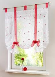 Roman Shades For Kitchen Aliexpress Com Buy Roman Shade European Embroidery Style Tie Up