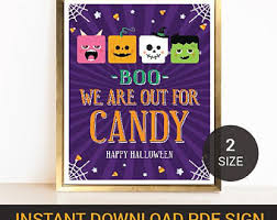 halloween party signs and bunting halloween printable